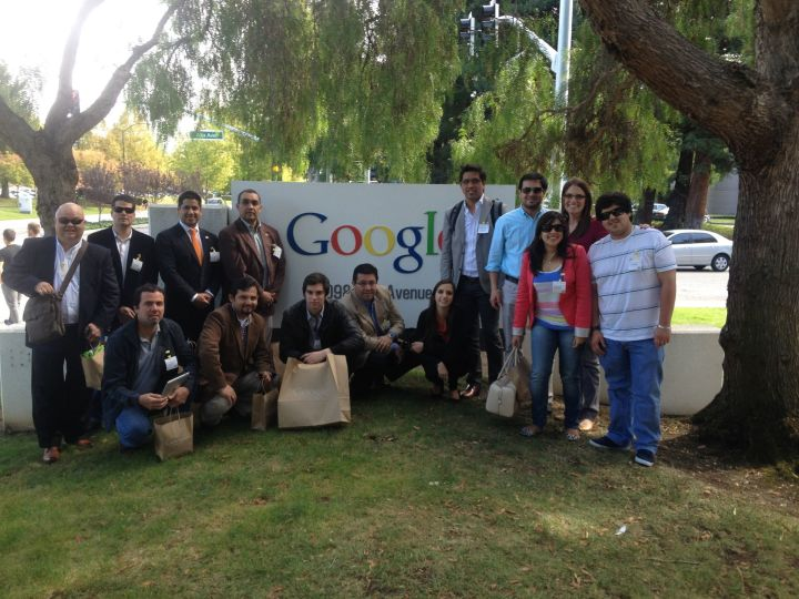 Visita google headquarters